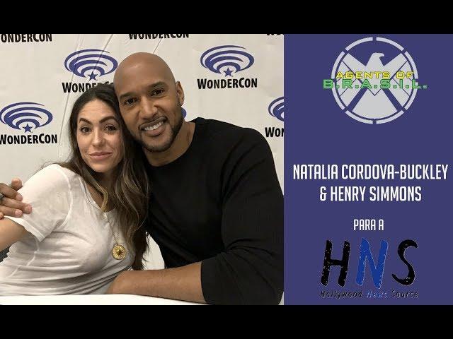 Wondercon: Natalia Cordova-Buckley e Henry Simmons falam sobre Macklena