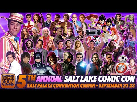Salt Lake Comic Con 2017 Sept 21-23