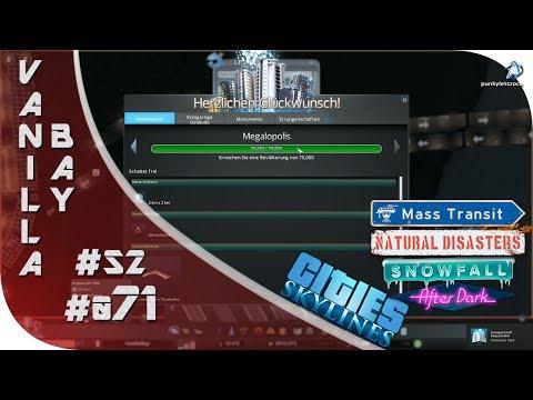 Cities: Skylines [Mass Transit DLC]🏥#S2#071 - 75k - Megalopolis [HD] [Gameplay] [Deutsch] [German]  
