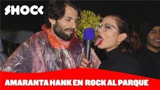 ¿Quién es Amaranta Hank? Responde el público de Rock al Parque 2019 - Shock