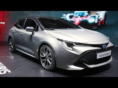 2019 toyota auris revealed at geneva motor show 2018 youtube. Black Bedroom Furniture Sets. Home Design Ideas