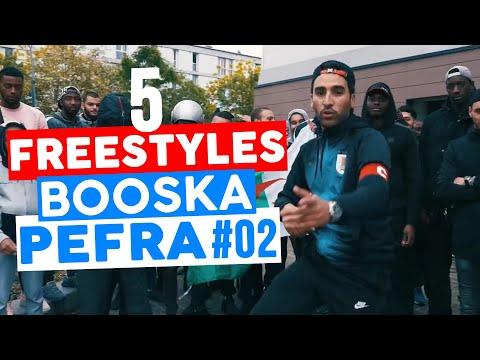 5 FREESTYLES 🎥 BOOSKA PEFRA 🎥 #02   HEUSS L'ENFOIRÉ, BRULUX, KALASH CRIMINEL, DAVODKA, REMY