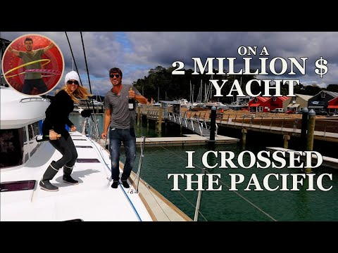 I CROSSED THE PACIFIC ON A 2 MILLION DOLLAR YACHT - Ep 64
