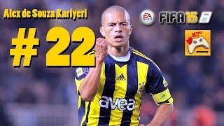 FIFA 15 Alex de Souza Kariyeri #22 Tek Hedef Gol Krallığı (Türkçe)