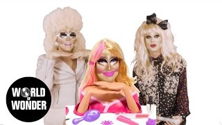 Enjoy the video? Subscribe here! http://bit.ly/1fkX0CV Trixie & Katya share memories from their childhoods. RuPaul's Drag Race season 7 queens Katya ...