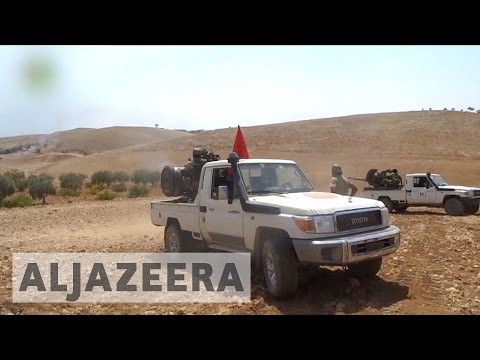 Turkish-backed rebels secure Jarablus in northeastern Syria
