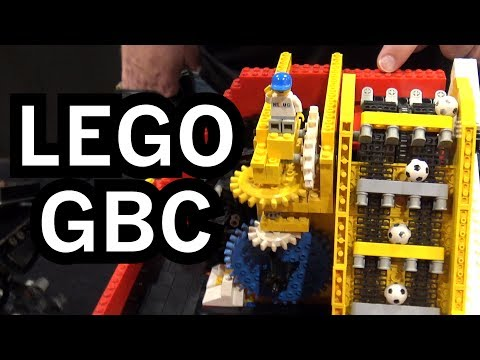 New World Record LEGO Great Ball Contraption Rube Goldberg Machine | Brickworld Chicago 2017
