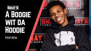 A Boogie Wit Da Hoodie Freestyles + Talks Upbringing, New Album 'Artist 2.0' | SWAY'S UNIVERSE