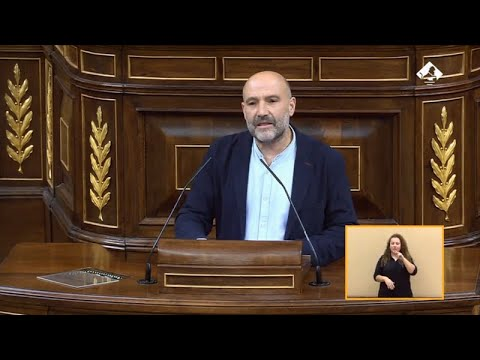 Intervención de Néstor Rego na sesión de investidura de Pedro Sánchez