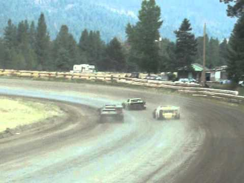 Eagle Track Raceway Modified Main Event Part 1 Aug 9th 2014