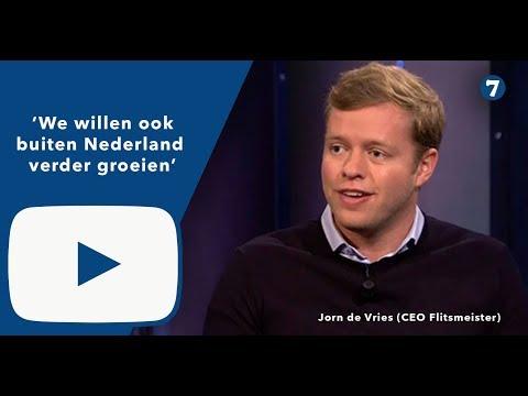 Jorn  de Vries (Flitsmeister): 'We willen ook buiten Nederland verder groeien'