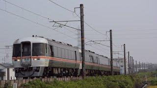 キハ85系特急南紀1号海蔵川橋梁通過(2020.8.8)
