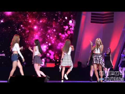 140903 Sistar 씨스타 - I Swear @KBS Broadcasting Awards