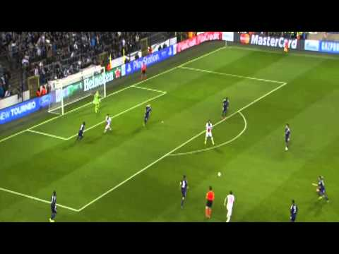 Zlatan Ibrahimovic Amazing Four Goals vs  Anderlecht   UEFA Champions League 23 10 2013