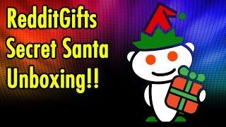 Thank You H2O_LUVER - RedditGifts Secret Santa Unboxing