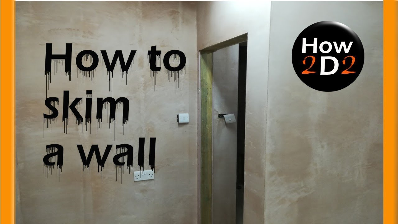 how to skim a wall how to plaster a wall plastering. Black Bedroom Furniture Sets. Home Design Ideas