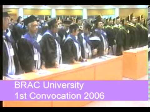 BRACU 1st Convocation
