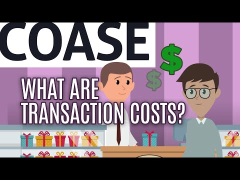 Essential Coase: What Are Transaction Costs?