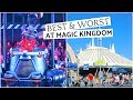 BEST & WORST ATTRACTIONS IN THE MAGIC KINGDOM | Lizzie Gines