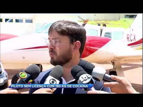 Adolescente transporta 150 kg de cocaína em aeronave