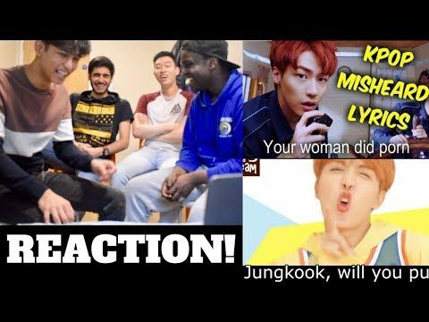 K-POP Misheard Lyrics of 2017 REACTION! (TRY NOT TO LAUGH!)