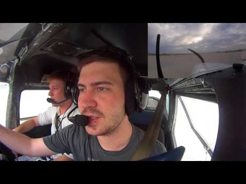 Flight Lesson #3 - slow flight, stalls, steep turns and crosswind landings