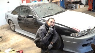 Chow's s14 Gets a Full Body Kit