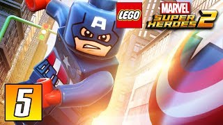 Captain America Airplane Battle - Part 5 - LEGO MARVEL Super Heroes 2