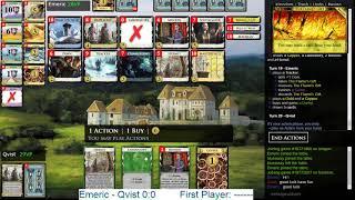 Dominion Online Championship Match Round 2 vs. Emeric
