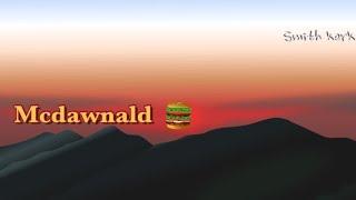 새벽에 맥도날드를 가