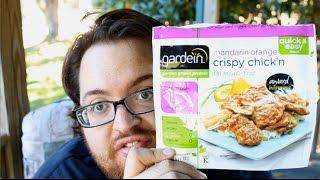 """gardein Mandarin Orange Crispy Chick'n"" Food Review!"