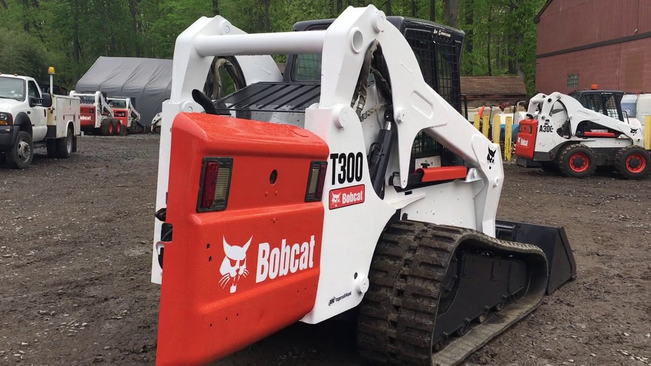 2006 Bobcat T300 Skid Steer Stock #476 - YouTube