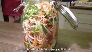 Dua Gia - Vietnamese Pickled Bean Sprouts Recipe