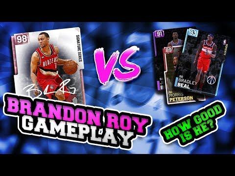 COMPARING SGS: IS PINK DIAMOND BRANDON ROY WORTH IT!? NBA 2K19 MYTEAM