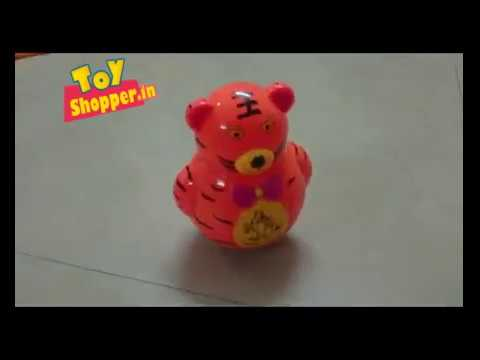 Rolly Polly Tumbler Toy   Musical Happy Tiger