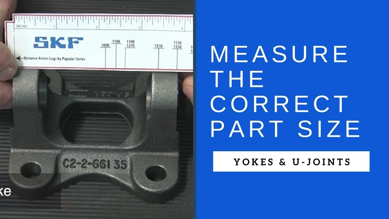 How to measure yokes and u joints