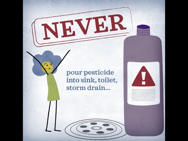 Pesticide Disposal Around Your Home