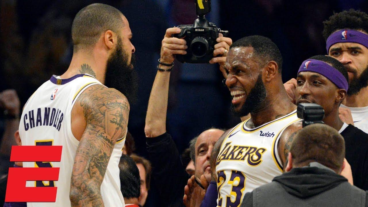 Lakers win vs. Hawks | NBA Highlights