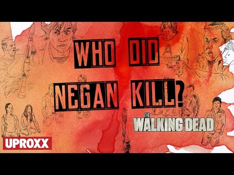 Who Does Negan Kill? The Walking Dead | In Theory