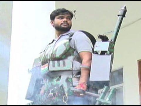 It's real! Varanasi youth Shyam Chaurasia makes an Iron-man