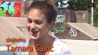 Skejterka Tamara Savić - skejt nije za devojčice? | Mondo TV