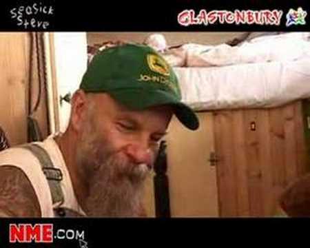 NME Video: Seasick Steve at Glastonbury 2008