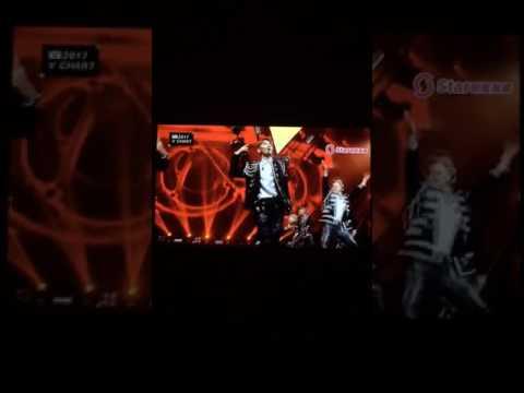 180417 EXO-LOTTO 5th v chart awards
