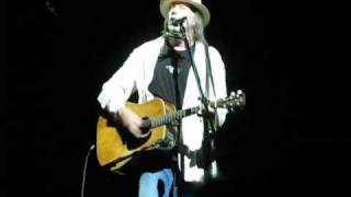 Neil Young Twisted Road Solo Tour - Old Man