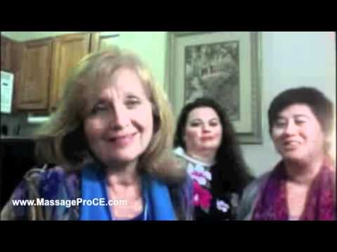 Massage Students, Massage Instructors and Massage Schools with Gloria Coppola and Friends