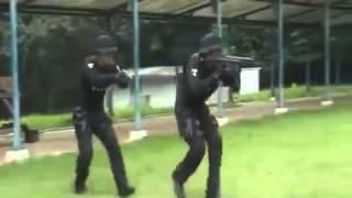 Тренировка северокорейского спецназа