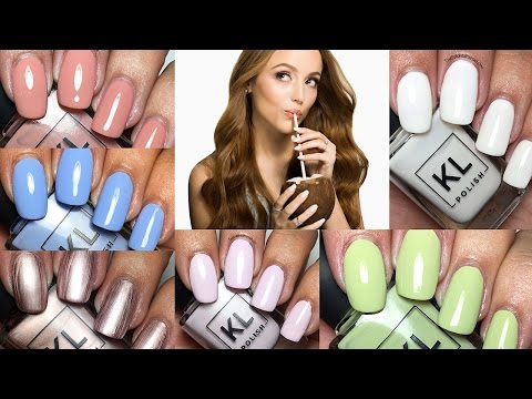 KL Polish 2017 Spring Collection by Kathleen Lights   The Polished Pursuit