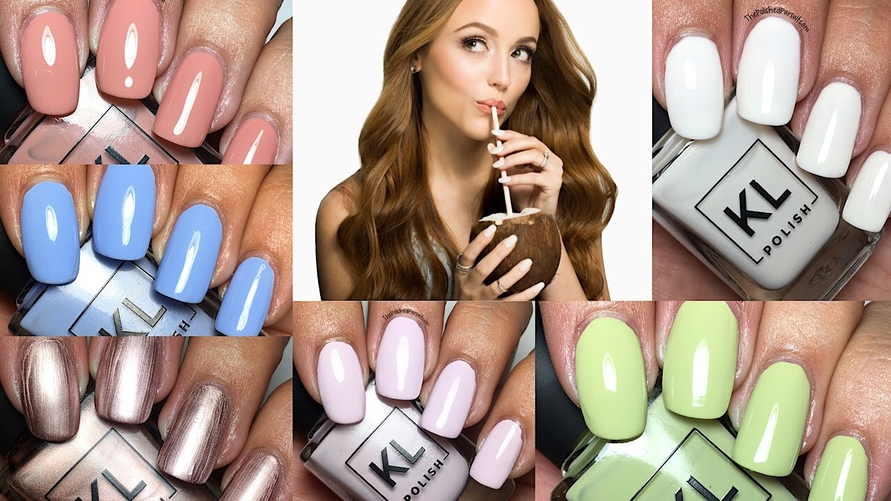KL Polish 2017 Spring Collection by Kathleen Lights | The Polished ...