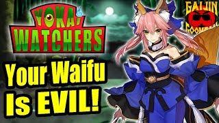 The Evil Origin of Fate's Tamamo no Mae! - Yokai Watchers