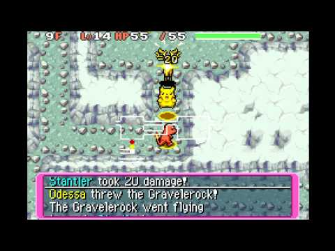 """Let's Play Mystery Dungeon: Part 5 --- The artist formerly known as """"God of Thunder"""""""